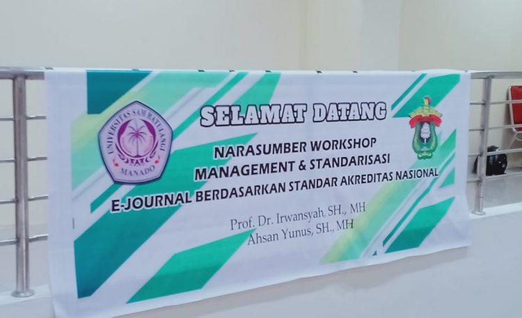 Workshop Management & Standarisasi e-Journal - Lembaga ...